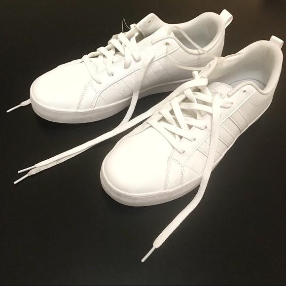le adidas vs ritmo classico bianco poshmark scarpe taglia 95